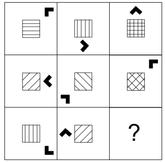 Beispiel aus dem Aufnahmeverfahren: Muster fortführen